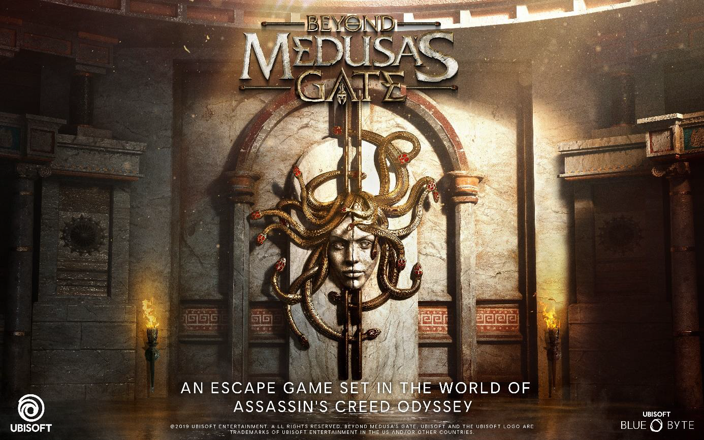 Escape Game premium : Beyond Medusa's Gate